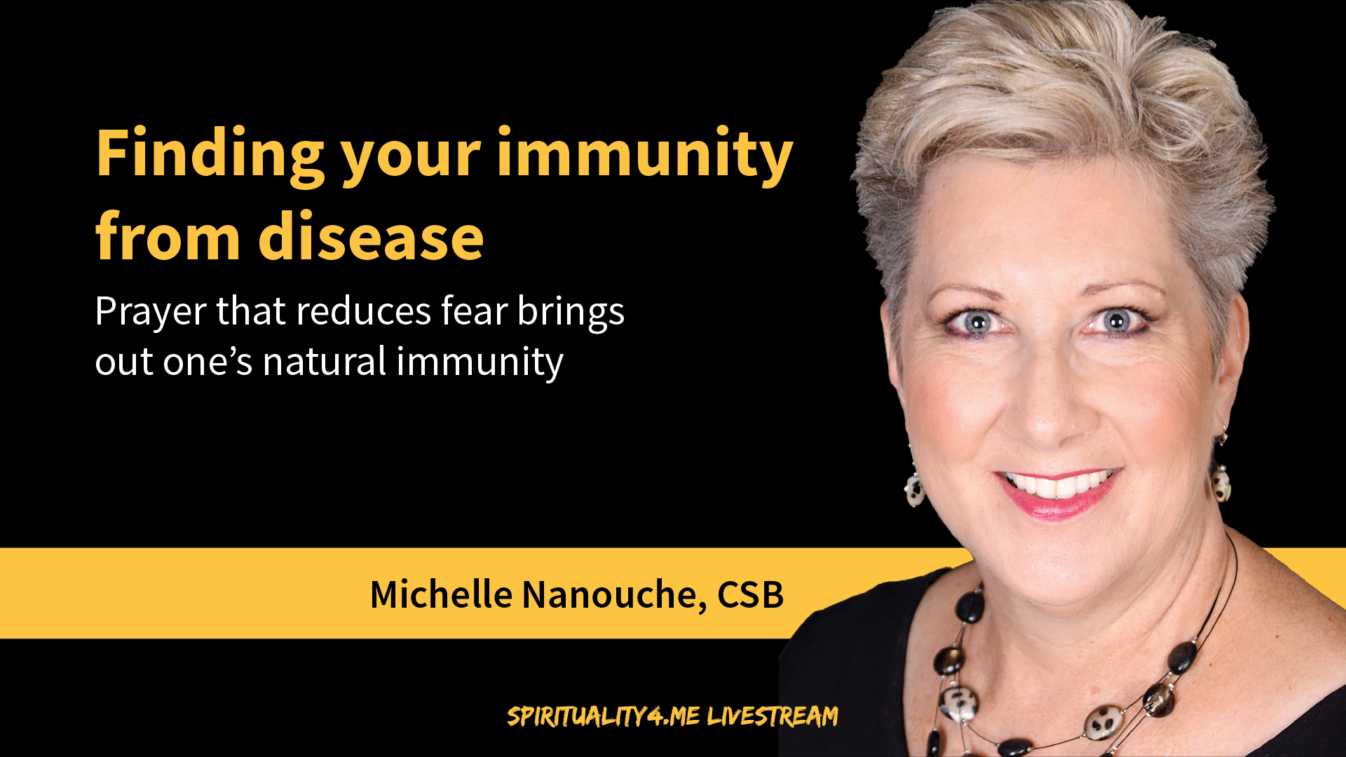 """Finding your immunity from disease"" by Michelle Nanouche"