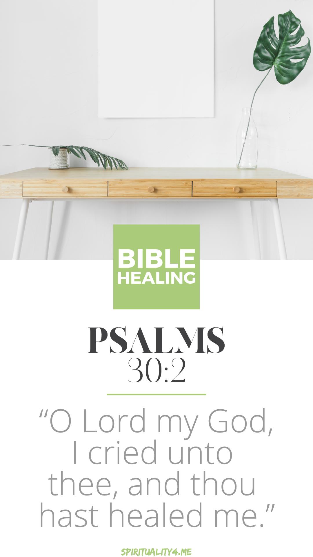 bible healing i